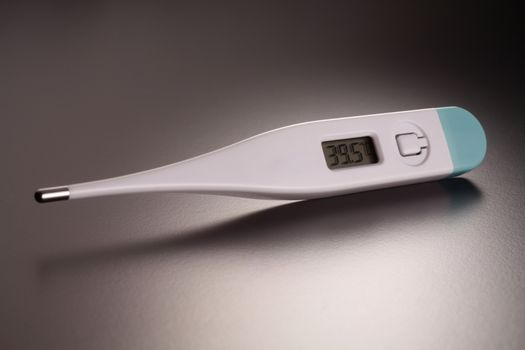 Close up  of Clinical thermometer
