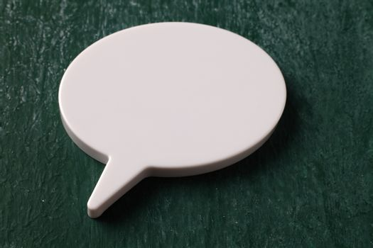 close up of the speech bubble icon