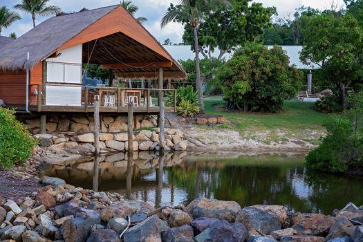 Tropical Outdoor Dining Venue