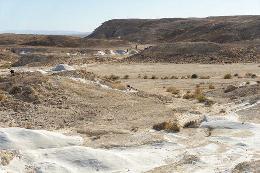 Nitzana settlement desert travel in Israel vacation