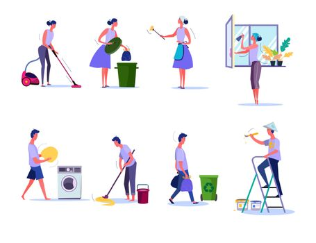 Cleaning and housekeeping set