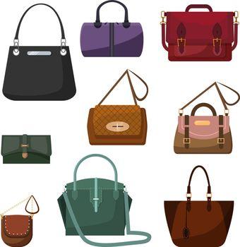 Handbags for women set
