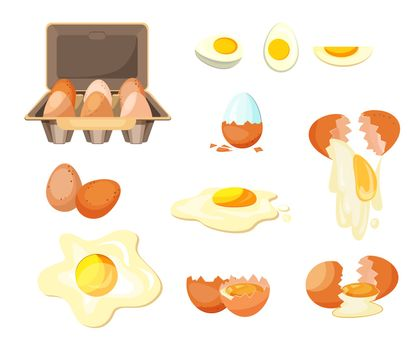 Cooking eggs set