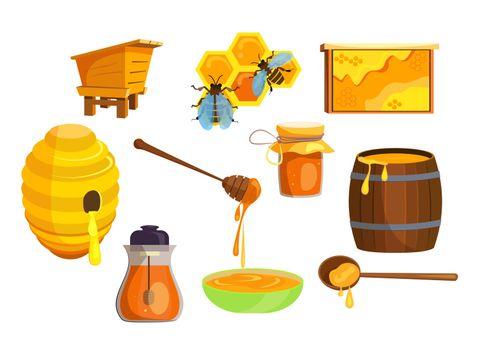 Honey production set