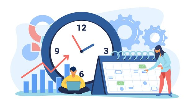 Timing and project scheduling