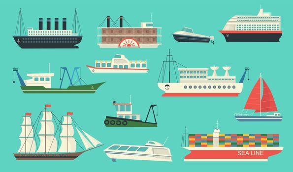 Sea transport set