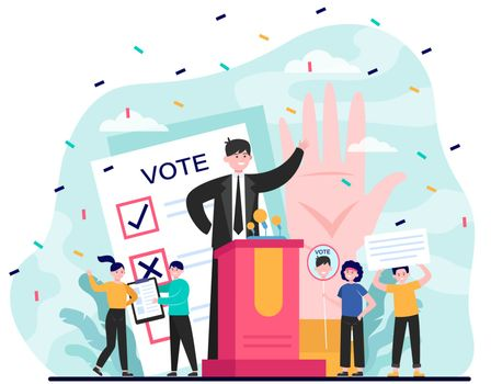 Election and political campaign