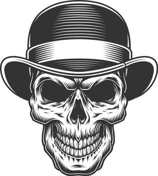 skull in the bowler hat