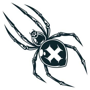 Spooky cross spider