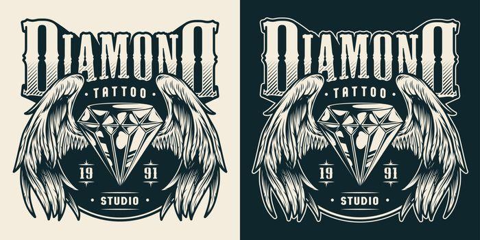 Tattoo studio print