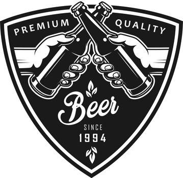 Vintage octoberfest black logo