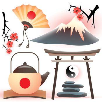 Tradition japanese symbols