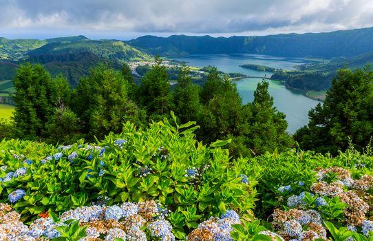 Lake of Sete Cidades