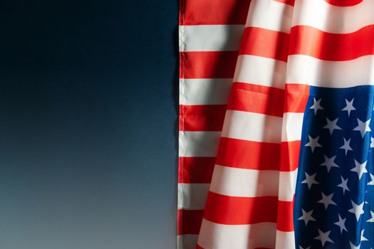 america flag with copyspace for national holiday Presidents day