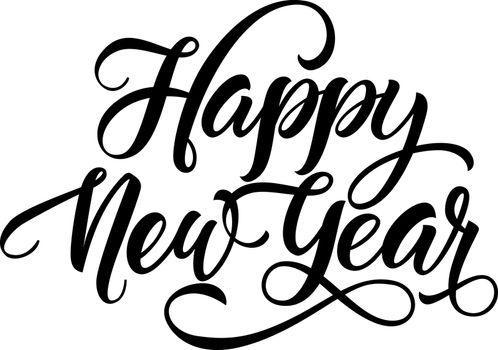 Happy New Year Inscription