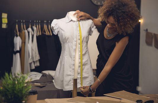 Fashion designer on her Atelier