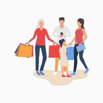 People doing shopping