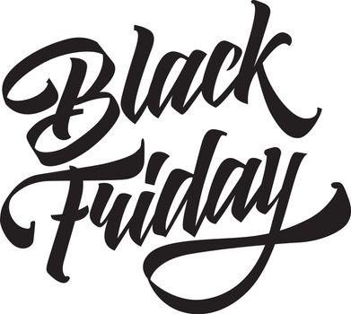 Black Friday creative lettering