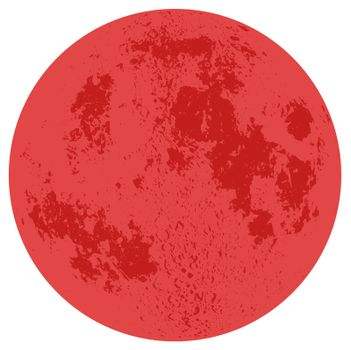 A red moon image.