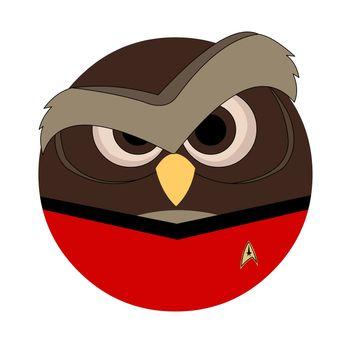 Red Shirt Owl