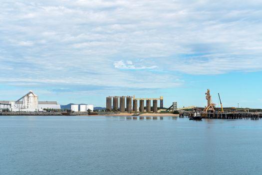 Infrastructure Of Export Harbor