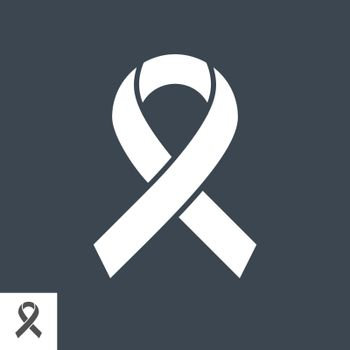 Hiv Ribbon Vector Icon