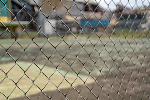 Dirty Chain Link Fence