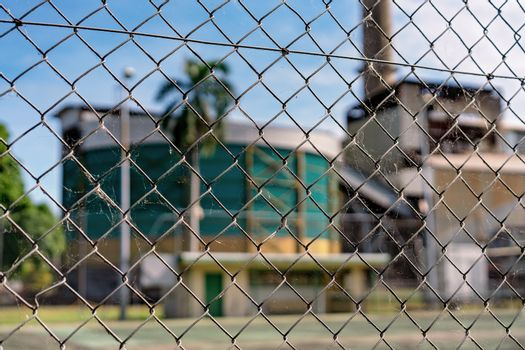 Wire Fence Keep Out From Factory