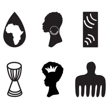 Ethic symbols isolated on white background. Vector illustration.