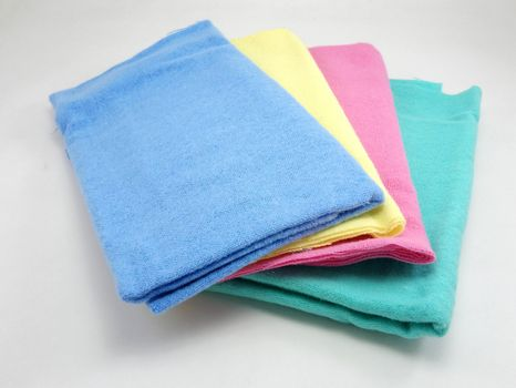 Pranela colorful cloth cleaner use to wipe excess water