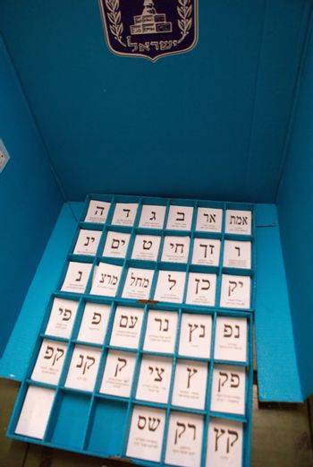 polling station in israel