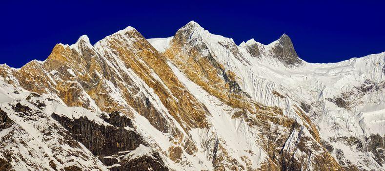 Baraha Shikhar, Annapurna Range, Annapurna Conservation Area, Himalaya, Nepal