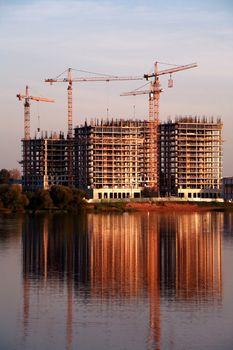 Construction Near River