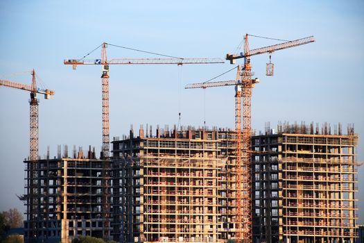 Modern Construction View