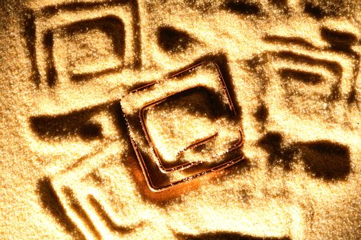 Symbol On Sand
