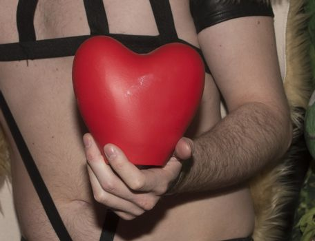 Heart, a symbol of love and romance in interpersonal relationships