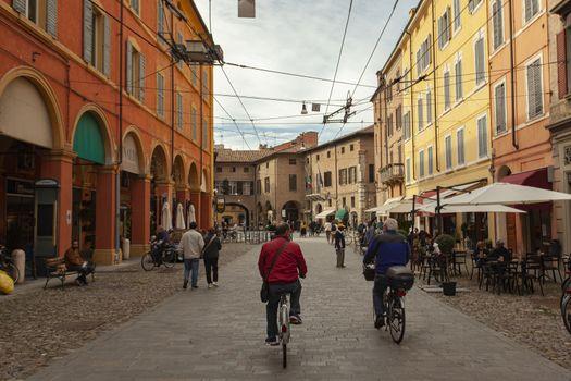 View of Via Emilia Centro in Modena, Italy 4