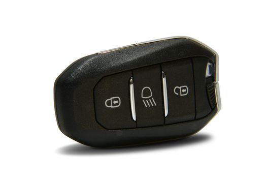 car key with remote central locking