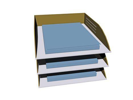 Storage compartments with documents