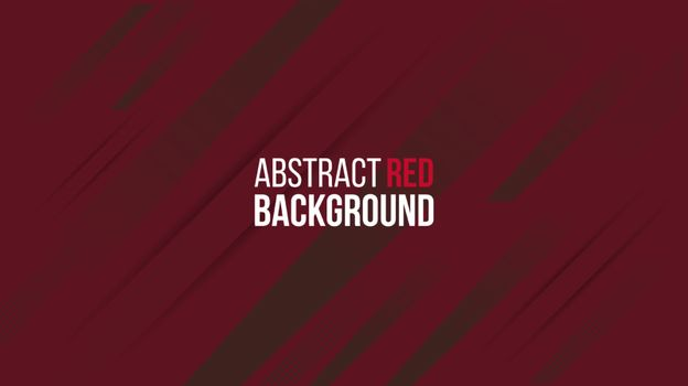 Abstract red background gradient design with geometric composition.Futuristic minimal pattern place for text or message.Trendy and modern Cool banner design template.