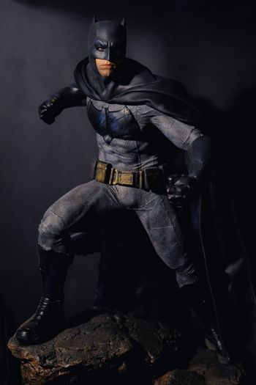 Khonkaen,Thailand - March 4th 2017: Batman figure standing grace