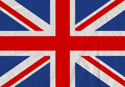United Kingdom grunge flag. Patriotic background. National flag of United Kingdom