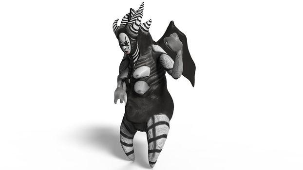 Monster Asian Imp 3D