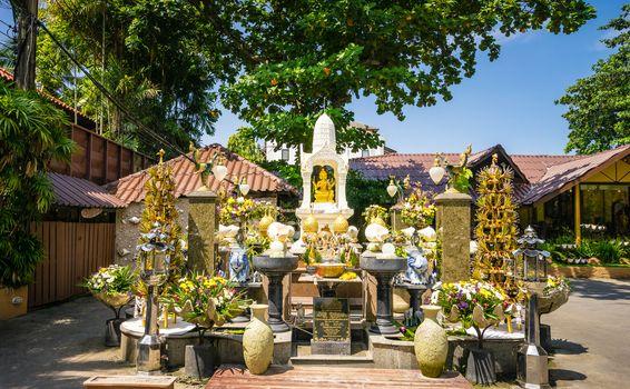 Thao Maha Phrom Shrine in resort