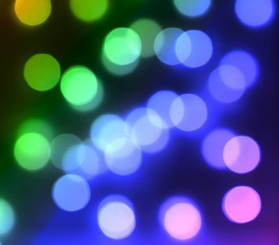 Abstract Bokeh Colorful Beautiful Entertainment Concept Bright Fun Multicolored Background