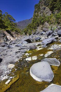 Barranco de las Angustias, Caldera de Taburiente National Park, Spain
