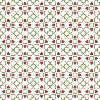 Floral Tiles Seamless Vector Pattern.flower Geometric texture pattern background.
