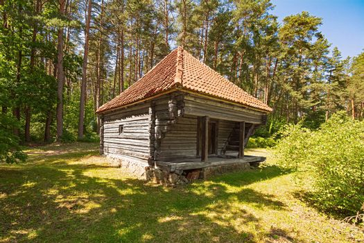 Old house in rural area, Riga, Latvia