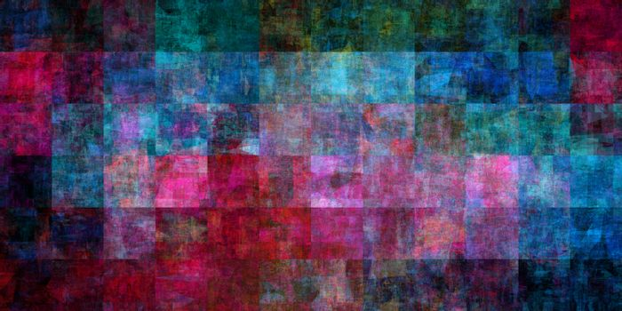 Fashion Art Grunge Pattern as Abstract Background