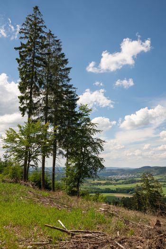 Sauerland region close to Winterberg, Germany